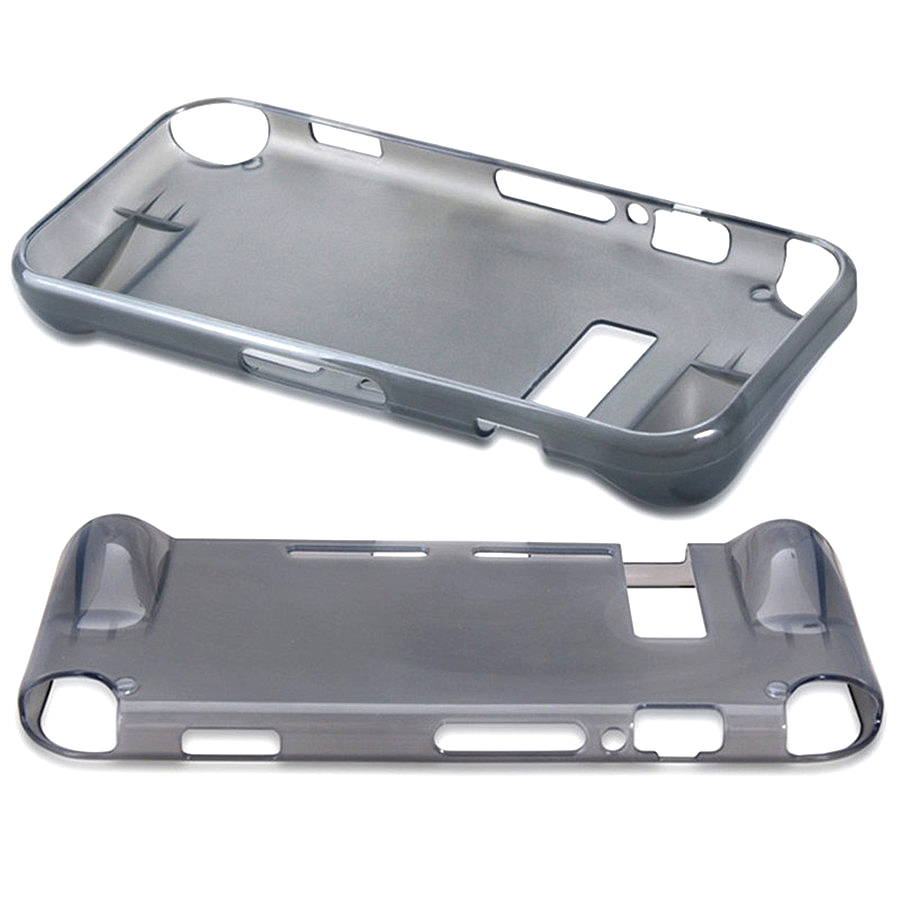 High-quality Protective Cover Gray Transparent Silicone Protective case for NS Nintend Switch 1