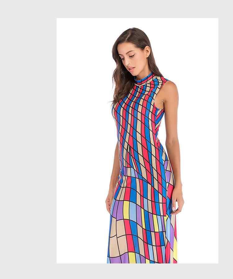 Z-ZOUX, женское платье, винтажные платья в стиле бохо, сексуальное длинное платье макси с цветочным принтом, лоскутное платье без рукавов, длинные летние платья, новинка 2019