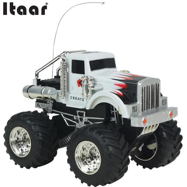 1:43 Radio Control Remoto Recargable Coche RC Todoterreno Camión Vehículo Juguetes