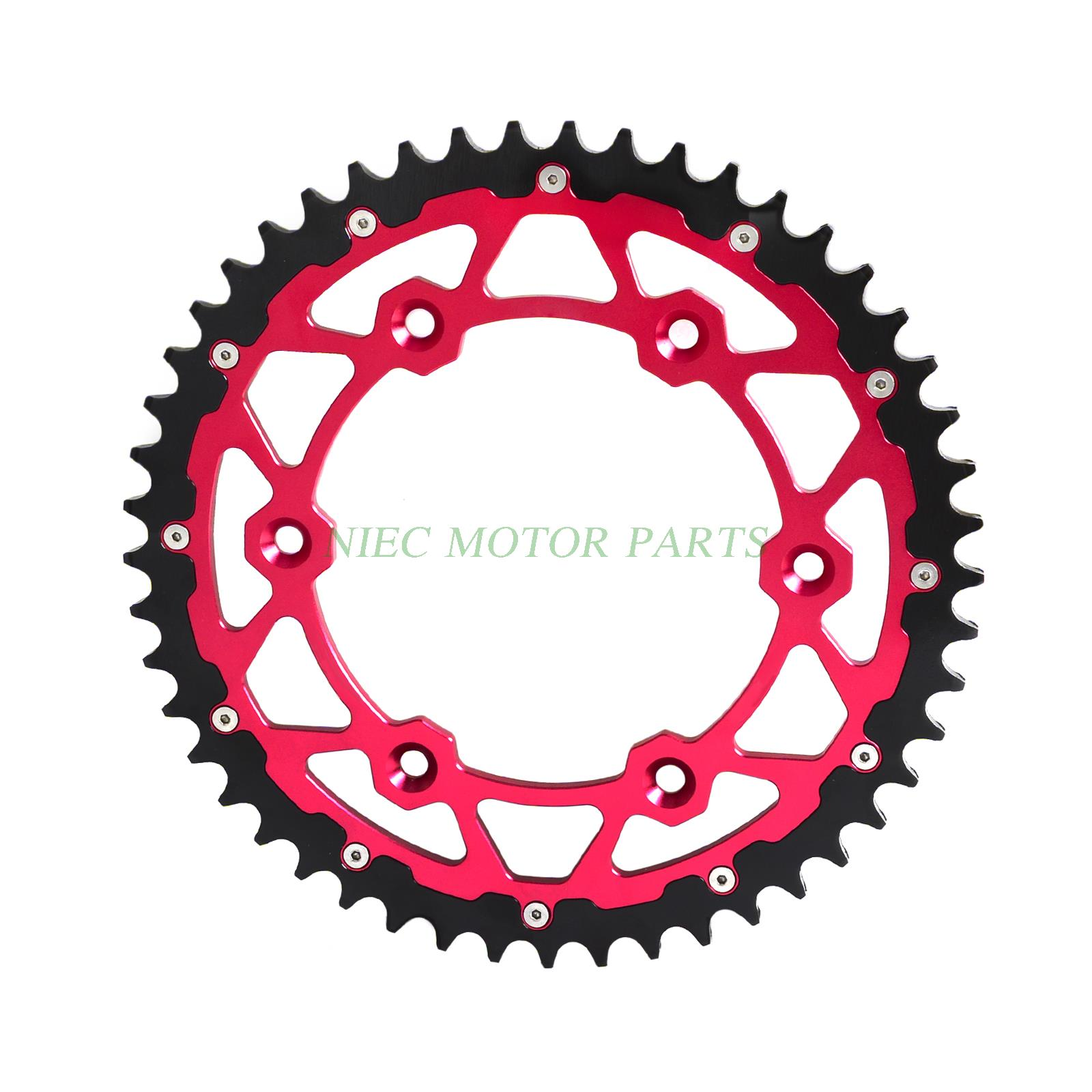 цена на 49T CNC Rear Sprocket For Beta RR 250 300 350 390 450 480 498 RS 390 430 Motorcycle pit dirt bike