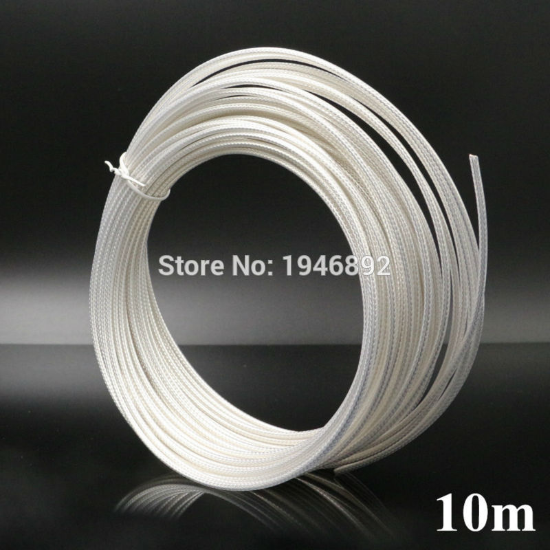 10 meters/lot 32.8ft RG316 White cable Wires RF coaxial Cable 50 Ohm for Connector Shielded Cable