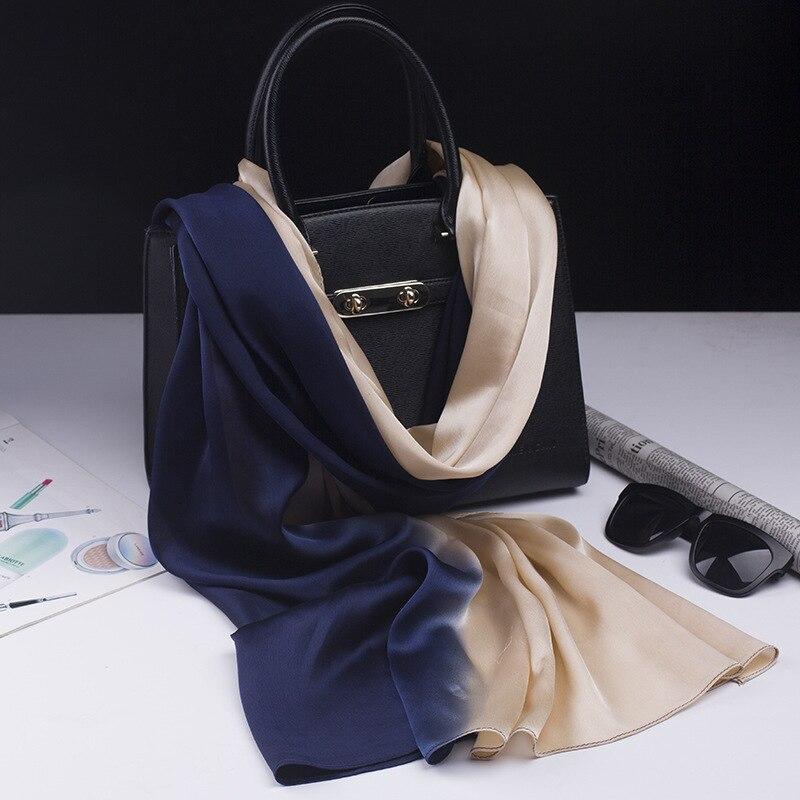 2017 luxury brand scarf silk shawl fashion soft woms