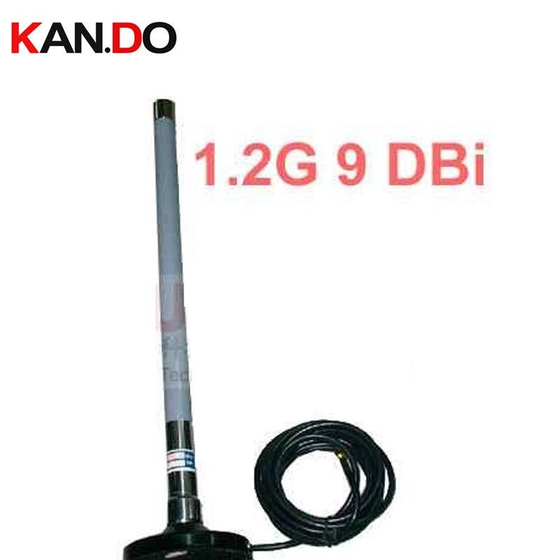 9dbi 3 mètres câble 1.2G Omni extérieur pour DRONE FPV antenne f1200mHz antenne de signal sans fil pour émetteur-récepteur sans fil