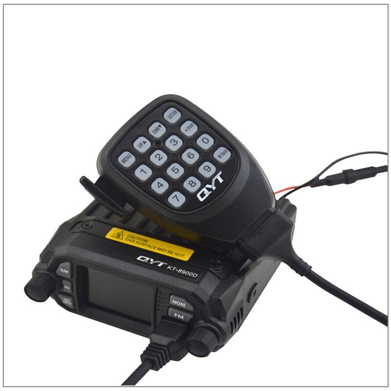 QYT KT-8900D Dual Band TX & RX 136-174 MHz & 400-480 MHz, Quad-bekleme 25 W 200 Kanallar Renkli Ekran mini cep FM RadyoQYT KT-8900D Dual Band TX & RX 136-174 MHz & 400-480 MHz, Quad-bekleme 25 W 200 Kanallar Renkli Ekran mini cep FM Radyo