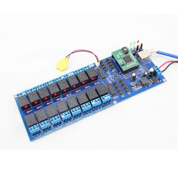 Q14028 USR R16 T 16 Channel Remote Relay Switch with TCP Interface 16 Channel