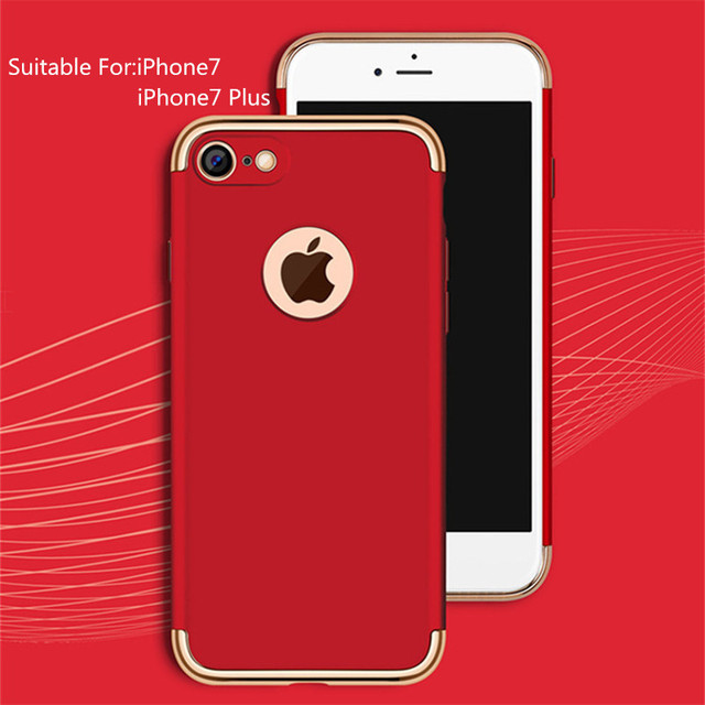 coque iphone 7 red apple