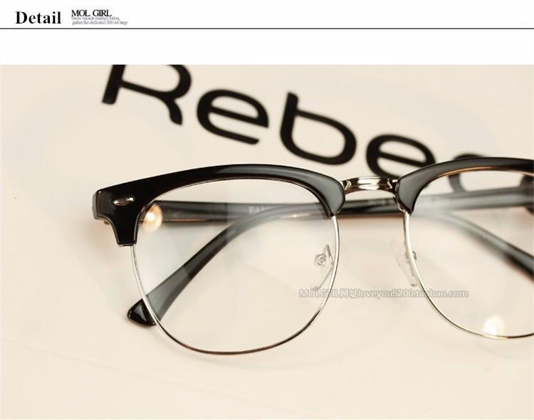 e85b882c7db6 ... Vintage Classic Optical Glasses Women Men Eyewear Frames Myopic Eye  Glasses Frames For Men Female Male ...