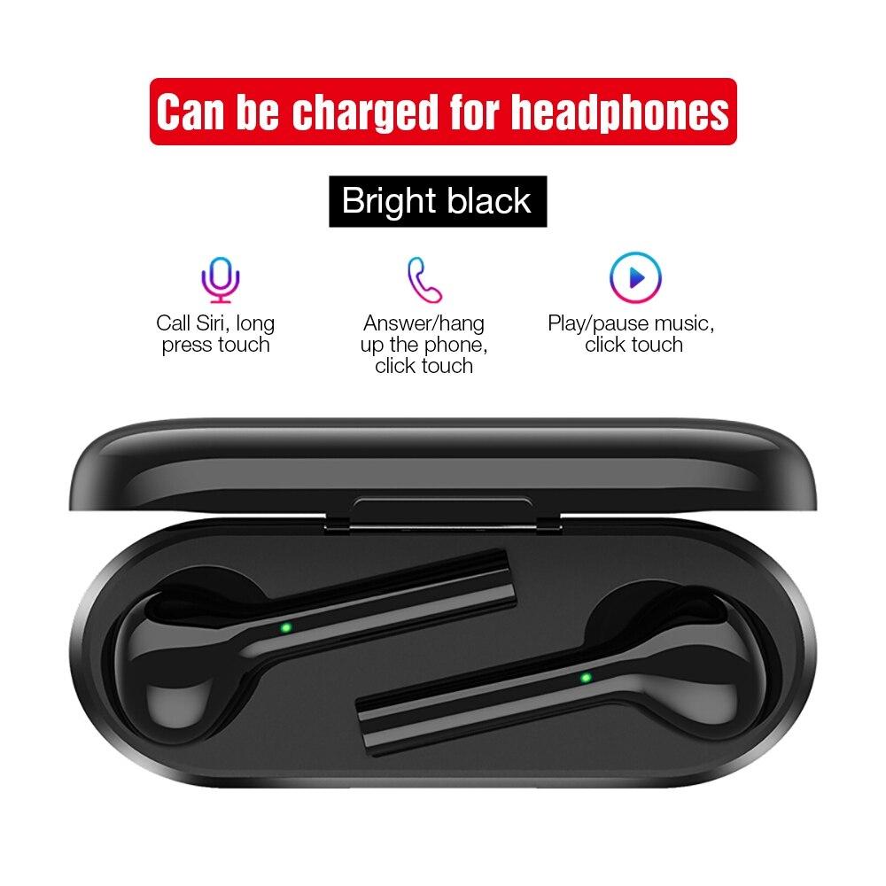 TOMKAS Mini TWS Bluetooth écouteur sans fil casque Freebud contrôle tactile Sport casque avec double Microphone pour téléphone portable - 3