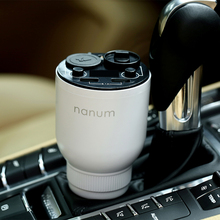 New air purifier car aromatherapy Holder machine new car odor oil Aromatherapy Cup with USB port