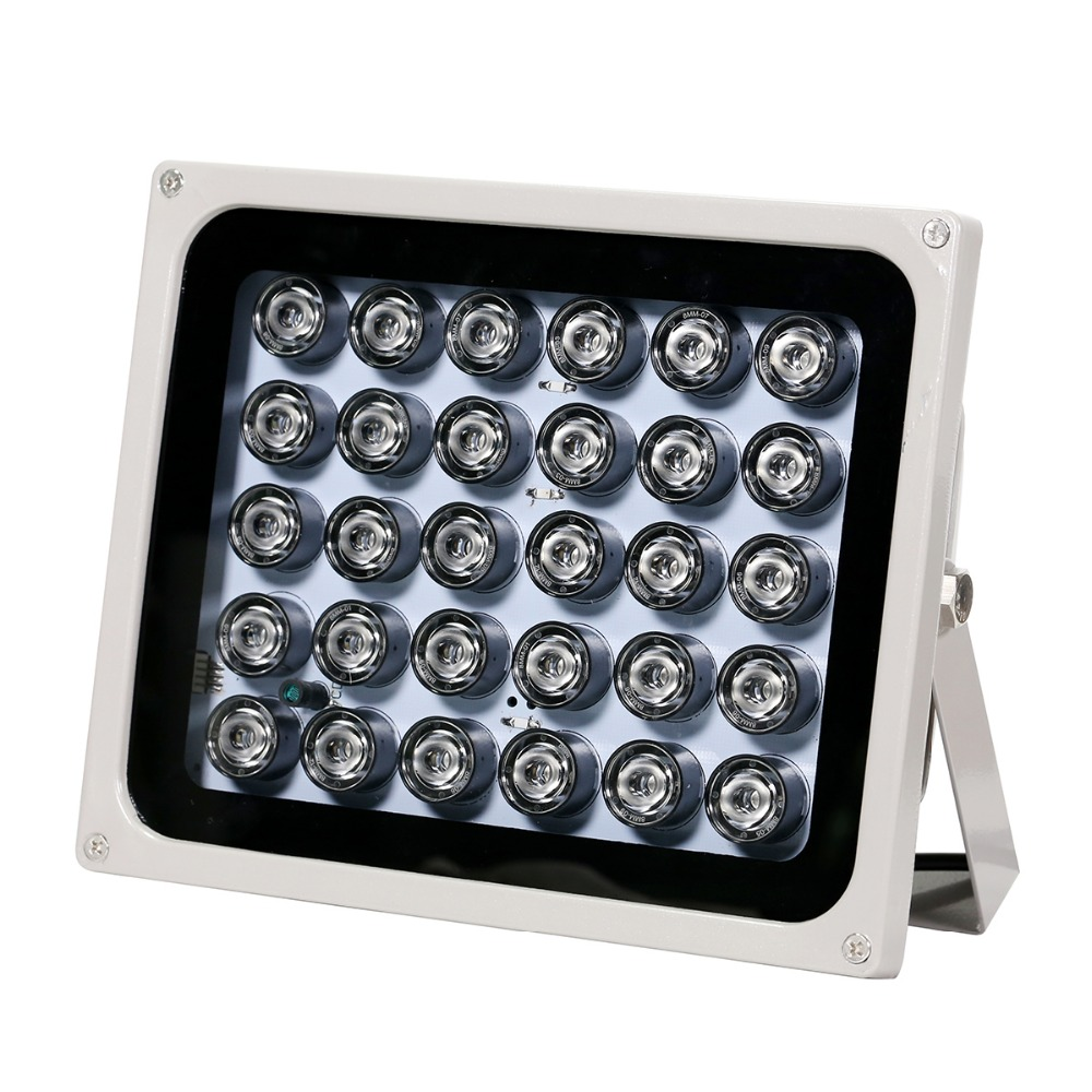 Image 5 - AZISHN CCTV LEDS 30 IR Infrared Illuminator night vision 850nm IP65 metal outdoor CCTV Fill Light For CCTV surveillance camera-in CCTV Accessories from Security & Protection