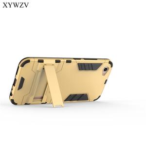 Image 5 - Para Vivo X9 Caso Capa À Prova de Choque Robot Rígido de Silicone Suave Tampa Do Telefone Caso Para Bbk vivo X9 Capa Para Vivo coque X9 X 9 XYWZV