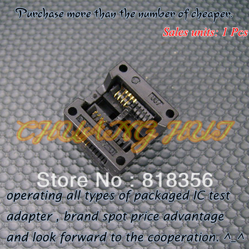 OTS-20-1.27-01(SOP8) SOIC8  IC Test & Burn-in Socket Programmer Adapter  5.4mm Width 1.27mm Pitch sop8 to dip8 so8 soic8 enplas ic programming adapter test burn in socket 3 9mm width 1 27mm pitch