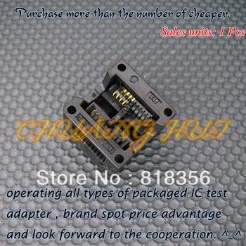 OTS-20-1.27-01(SOP8) SOIC8  IC Test & Burn-in Socket Programmer Adapter  5.4mm Width 1.27mm Pitch