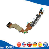 For Apple IPhone 4S USB Port Flex Cable Headphone Audio Charger Charging Dock Connector Micro Data