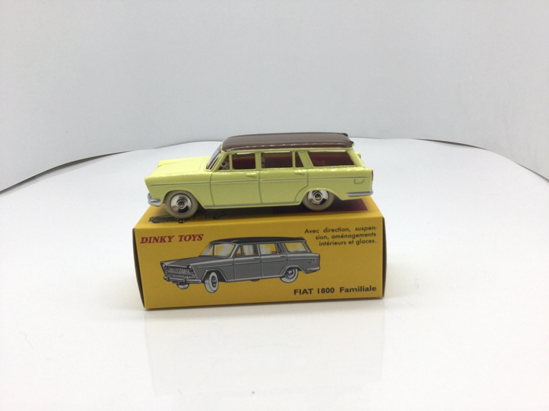 Atlas 1:43 BEST Diecast Dinky Toys 548 FIAT 1800 Familiale CAR MODEL COLLECTION цена
