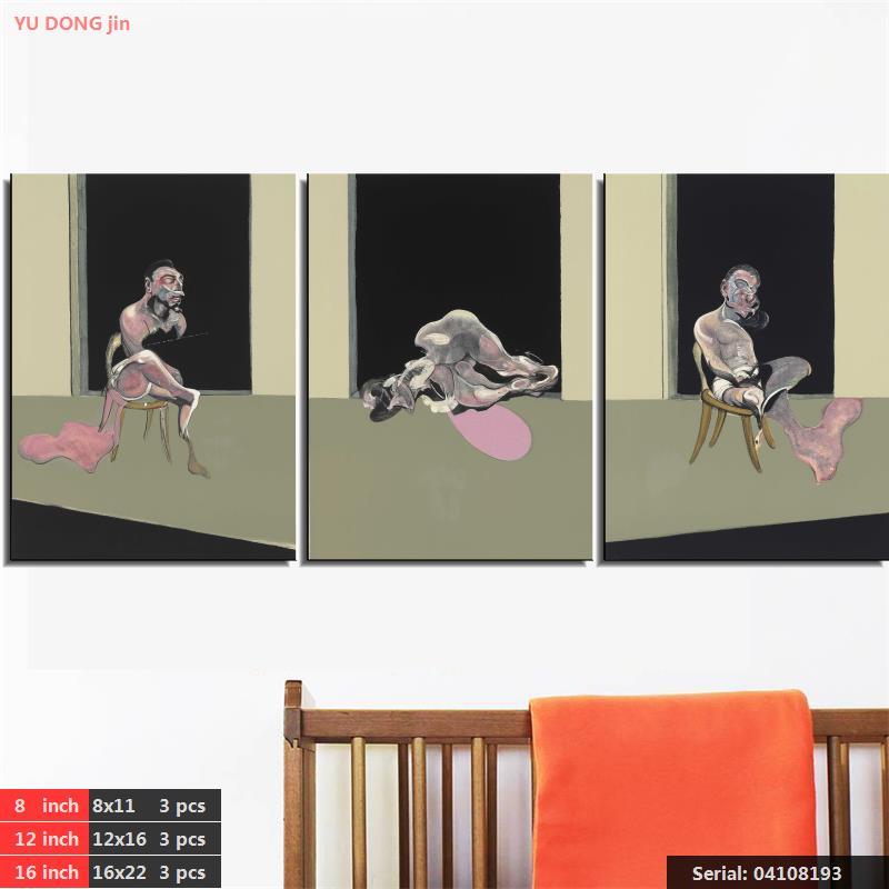 Francis Bacon Zátiší Abstrakt olejomalba Kresba umění Sprej Bez rámečku Plátno akce náměstí krajina krajina vosk04108193