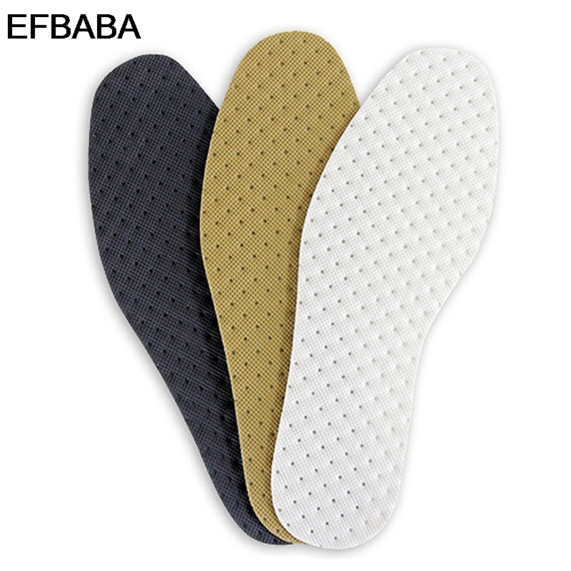 EFBABA Deodorant Sports Insoles Fabric Breathable Shoes Insoles No Slip Shoe Pad Inserts Accessoire Chaussure Semelles Confort