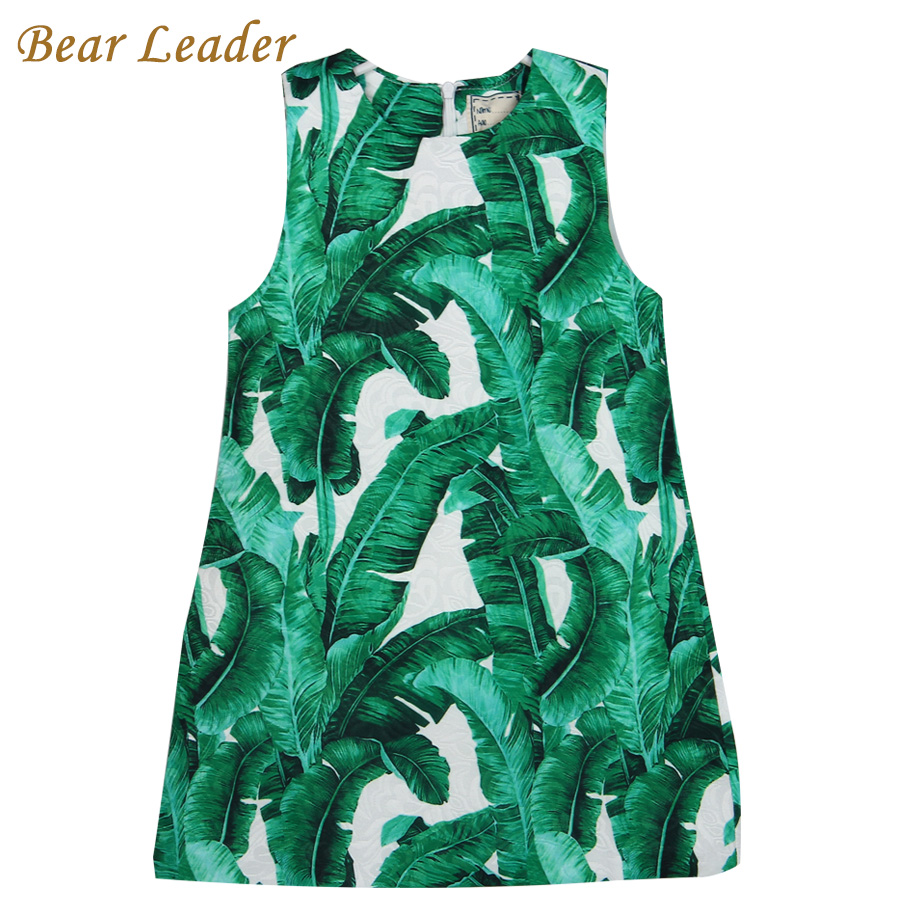 Bear Leader Girls Dress 2016 Brand Princess Dresses Sleeveless European and American Style Design Children Clothing Gril Clothes bear leader girls dress 2016 brand princess dress kids clothes sleeveless red rose print design for grils more style clothes