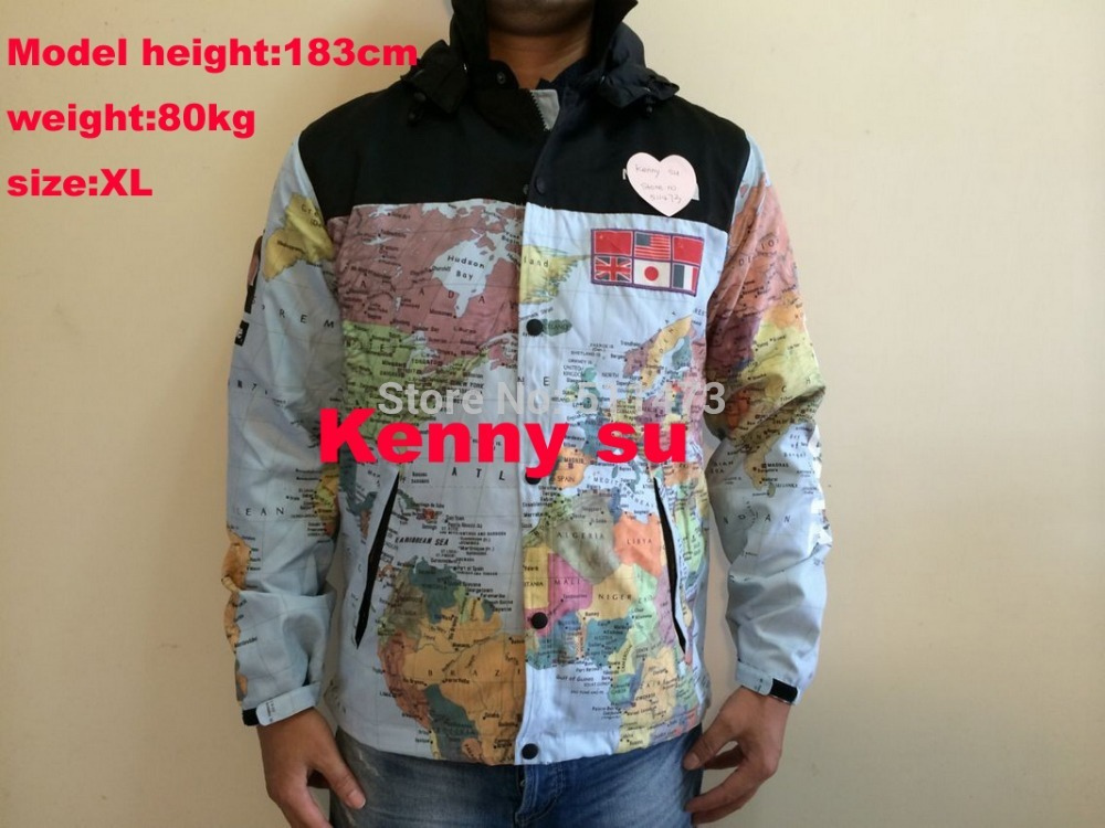2014 hot new fall winter sup cooperation world map windbreaker 2014 hot new fall winter sup cooperation world map windbreaker jacket in jackets from mens clothing accessories on aliexpress alibaba group gumiabroncs Choice Image