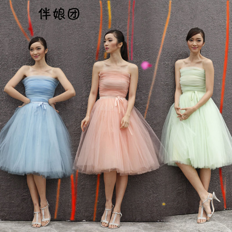 Parent-child bridesmaid dresses with bitter fleabane bitter fleabane skirt bridesmaid dresses and sisters girlfriends dress 2016 the new bridesmaid dresses bridesmaid dresses long grey spring evening dress female sisters dress party conference