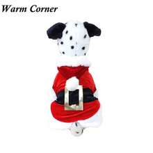 Warm Corner LM Halloween And Christmas Dog Clothes Santa Doggy Costumes Pet Apparel New Design Free Shipping Sept 19