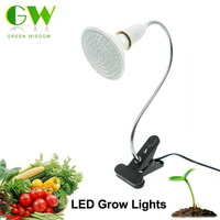LED Grow Light With 360 Degrees Flexible Lamp Holder Clip LED Plant Growth Light For Indoor