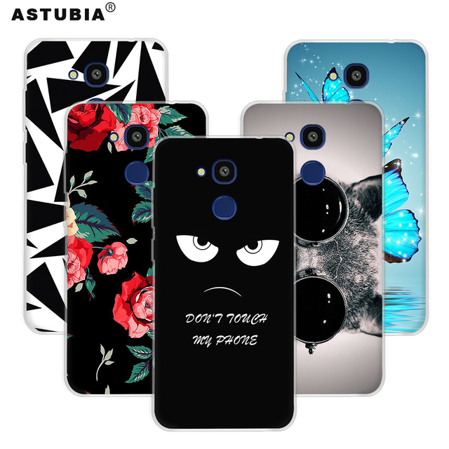 ASTUBIA Case For Vernee M5 Case Cover For Vernee Thor Case Hard Plastic Flower Cat Cover For Vernee Thor E 5 Cover For M5 Vernee