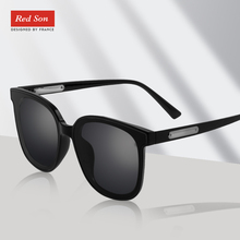 Red Son 2019 Brand Design Polarized Sunglasses Women Men Male Vintage Sun Glasses  fashion Shades eyewears UV400 Big Frame