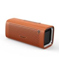 Portable Wireless Bluetooth Speaker 3D Surround Super Bass Stereo Bluetooth Speaker Smooth Square Leather Bluetooth Speaker