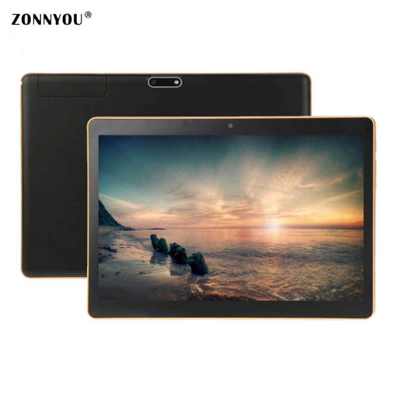 10 1 inch Tablet PC Android 7 0 3G Call Lte RAM 4GB ROM 32GB Bluetooth