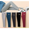 Plus size maternity legging spring and autumn maternity clothing spring 2016 100% maternity pants cotton trousers thick hot sale