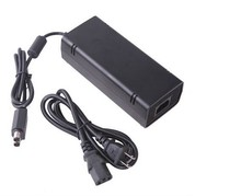 New SLIM 135W AC Power Supply Brick Charger Adapter Cable Cord 12V US/Eu plug for Xbox 360