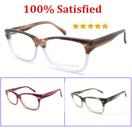 Novo 2016 da marca de Moda estilo Mulheres Óculos de Lente Clara retângulo Designer Frame Ótico Prescrição Eyewear B40202 Vidros do Olho