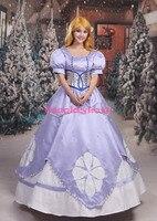 Косплей Любовь на заказ первая София: София принцесса светло фиолетовое платье Косплей Костюм для Хэллоуина Рождественская вечеринка