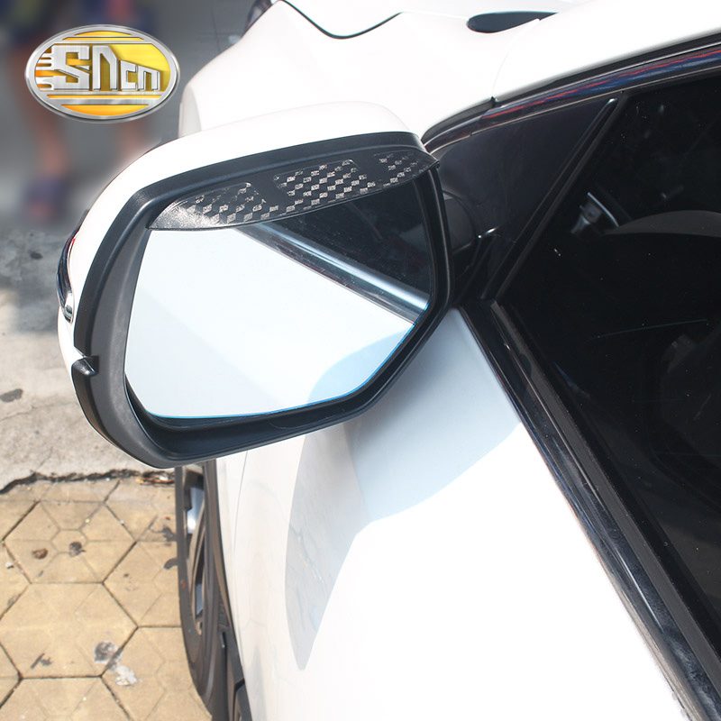 2PCS For <font><b>BMW</b></font> <font><b>X4</b></font> F26 2014 - <font><b>2019</b></font> Car Rearview Mirror Eyebrow Cover Stickers Rain-proof Decoration <font><b>Accessories</b></font> Car-styling image