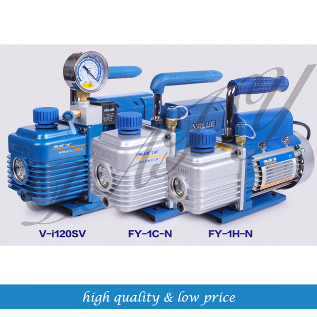 US $76 44 9% OFF|New refrigerant vacuum pump suitable  R410a,R407C,R134a,R12,R22 refrigerate 220V V i120SV-in Pumps from Home  Improvement on