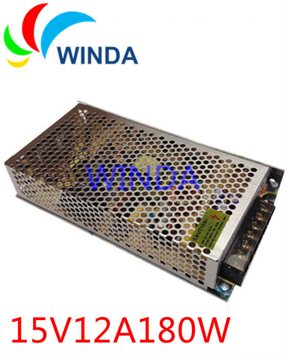 180W surveillance cameras switching power supply output 15V12A full range can be applies for all countries 20v 1 2a power module 220v to 20v acdc direct switching power supply isolation can be customized