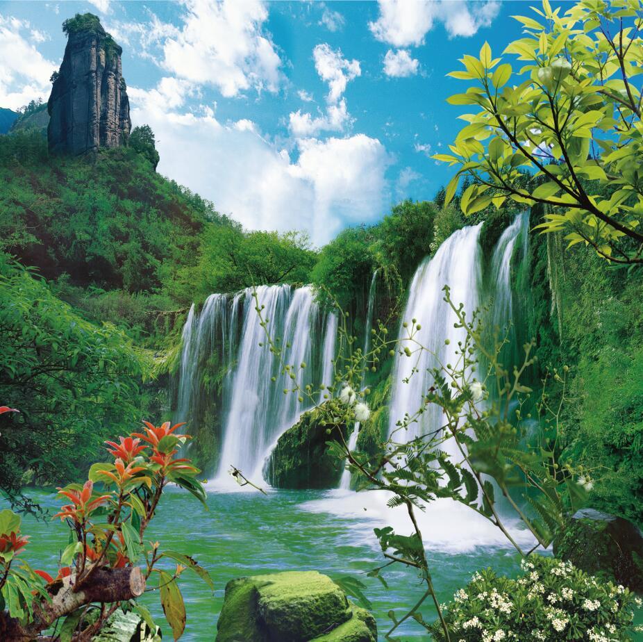 SHANNY 10x10ft Waterfall Vinyl photography backdrops studio props photography background PBQ103