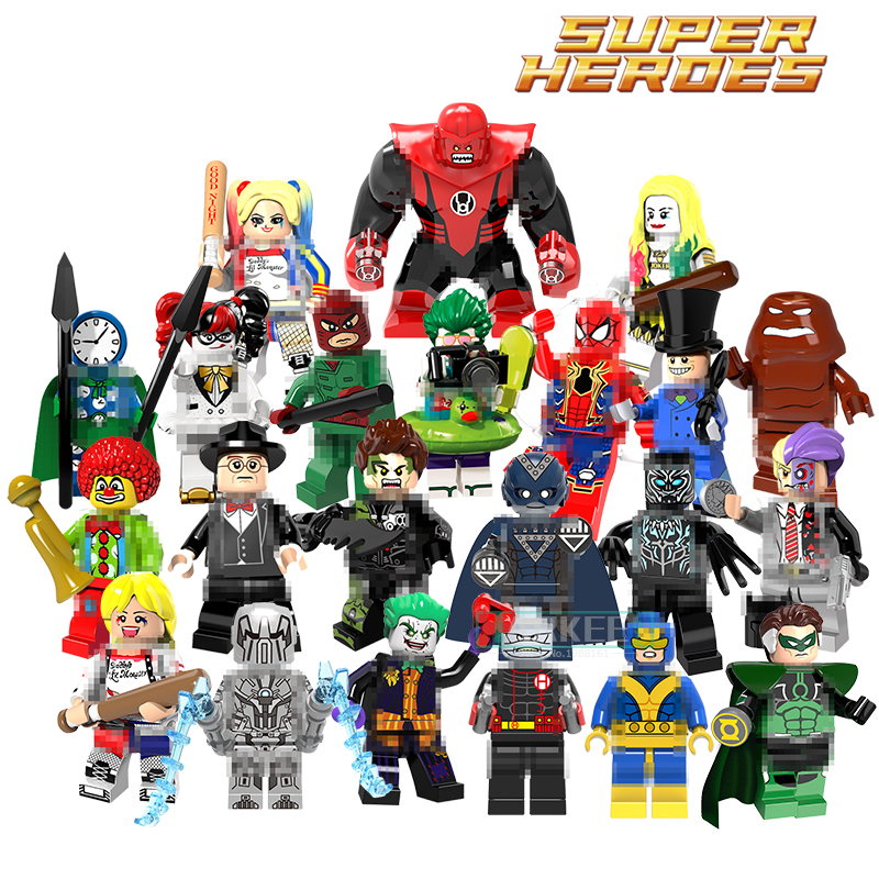 Single Sale Building Blocks Wrecker Whiplash Harley Quinn Joker Penguin Atrocitus Super Heroes Action Figures Kids DIY Gift Toys berkley whiplash pro в америке