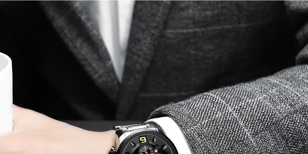 Relogio Masculino NIBOSI Watch Men Waterproof Luxury Brand 2018 Men Watches Stainless Steel Chronograph Wrist Watch Montre Homme (20)