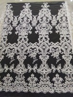 New Design High Quality Embroidery Bridal Lace Fabric French Lace