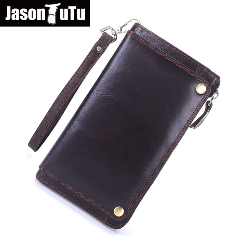 New soft Oil wax genuine leather men wallet long designer male clutch Luxury brand men wallets zipper coin purse phone Bags new top cowhide genuine leather men wallet weave long designer male clutch luxury brand zipper coin purse phone bags for gifts