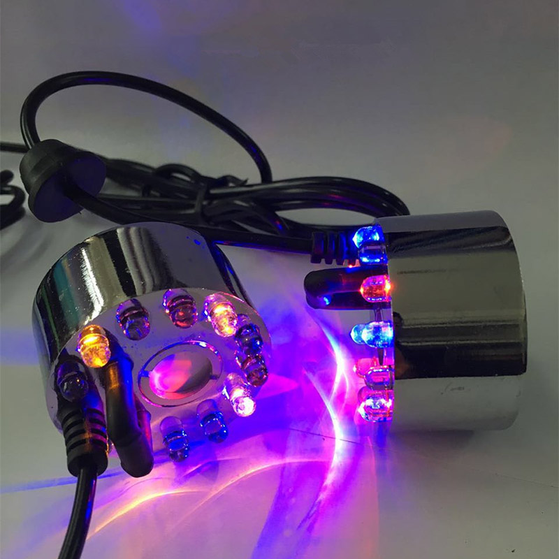 12 Leds Ultrasonic Mist Maker Fogger Water Fountain Pond Fog Machine Atomizer Air Humidifier ALI88