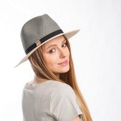 Muchique sun hats for women summer hat paperbraid panama fdeora two tone ribbon trim trilby hat.jpg 250x250