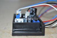 405nm 50 mw-200 mw 바이올렛/블루 레이저 모듈 전원 공급 장치 드라이버 12 v ttl 포함