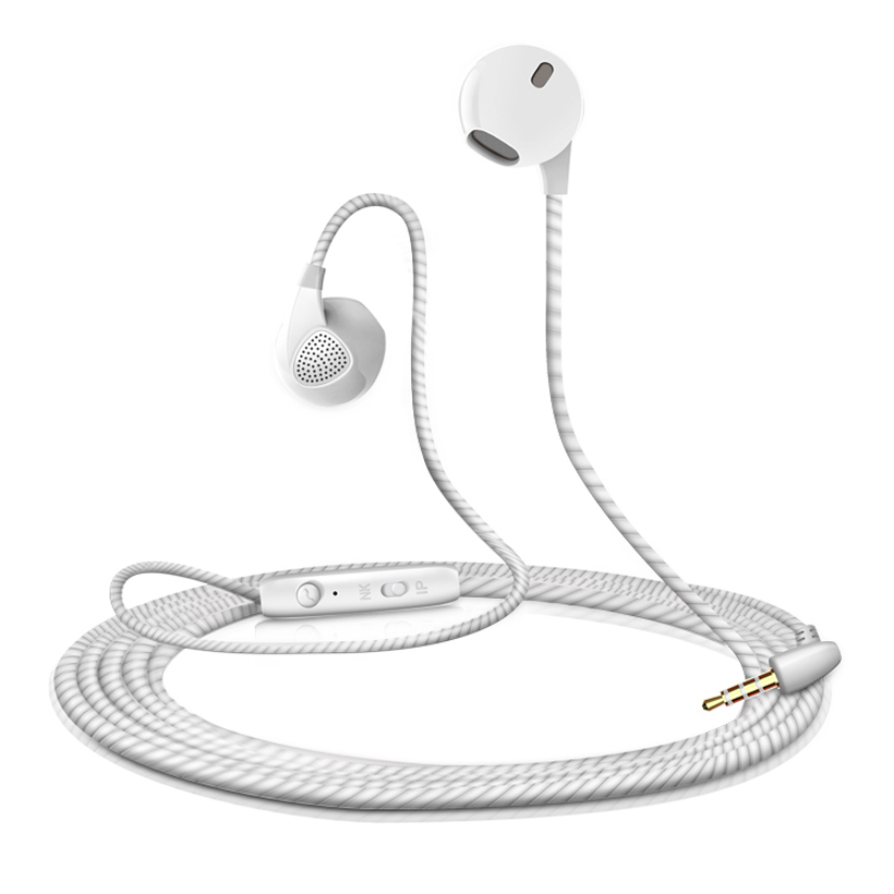 Universal Earphones Wired In-ear Earbuds with Microphone Stereo Corded For iPhone Sony Samsung Note LG Plus SE 5S 5