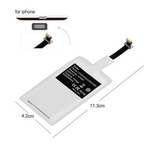 Image 5 - Modulo ricevitore adattatore caricabatterie Wireless Qi universale OLAF per iPhone X 6 7 8 Plus Samsung S7 S8 edge nota 8