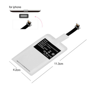 Image 5 - OLAF cargador inalámbrico Universal Qi, adaptador de cargador inalámbrico, módulo receptor para iPhone X, 6, 7, 8 Plus, Samsung S7, S8, edge, Note 8