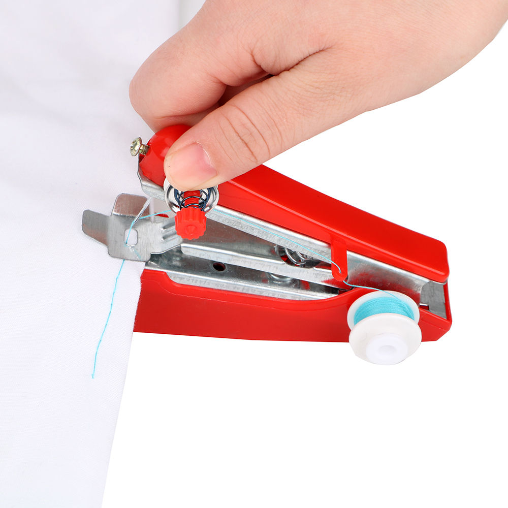 NICEYARD Creative Portable Mini Sewing Machine Simple Sewing Tools Manual Operation Home Travel Small Embroidery Random Color in Sewing Machines from Home Garden