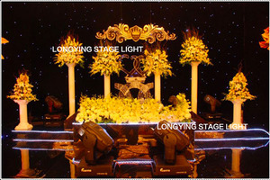 Image 5 - Free Shipping 4m*6m Blue / White LED Star Curtain LED Starry Sky Theater Curtain Wedding Backdrop Decoration For Events